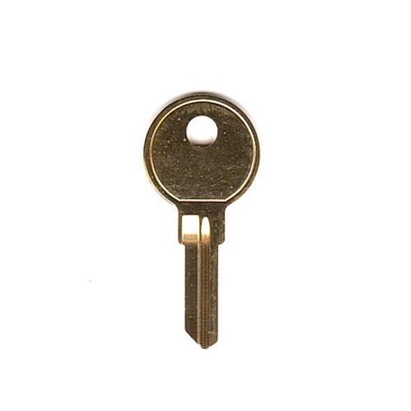 Key blank, Pundra/Wesko Control
