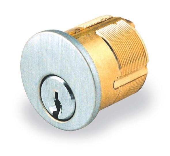"Ilco 7165-KS-2-26D Mortise Cylinder, 1"" Kwikset US26D, Keyed Different"