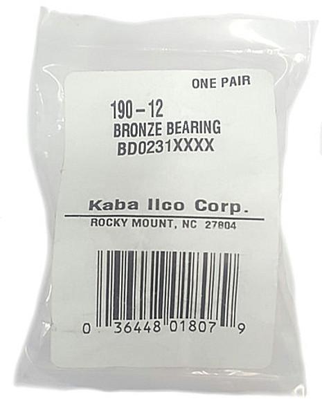 Ilco 008-20 Cutter Shaft Bushing, For 008 Key Machine (2-pack)