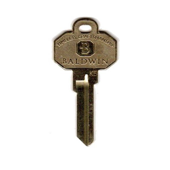 Baldwin 82245 Kwikset Profile Key Blank