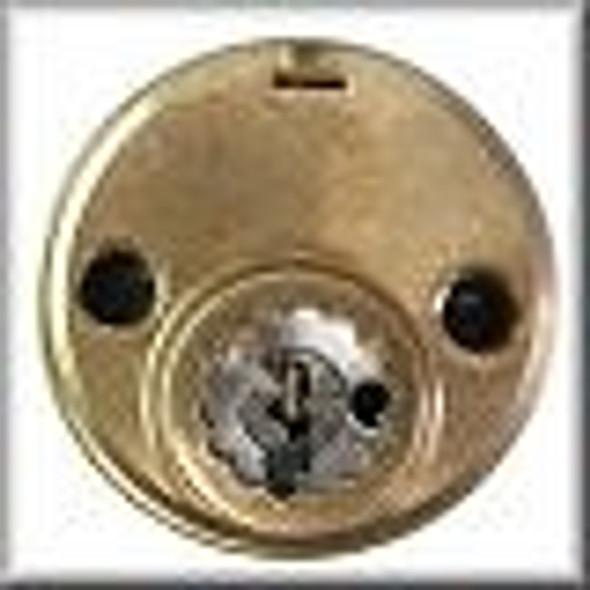 Rim Cylinder, R118-YA 10B, Yale Y1, Custom Keyed