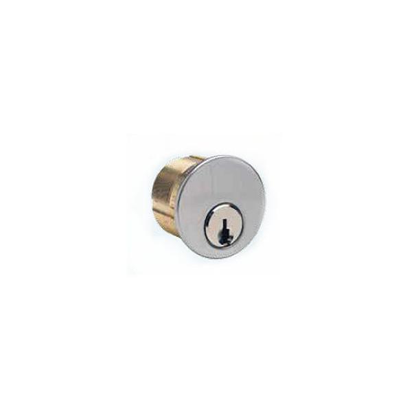"Mortise Cylinder, Ilco 7165-WA-2-26D, 1"" Weiser US26D"