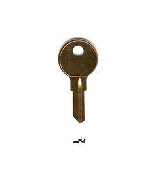 ESP Y11 Key Blank, Plain Uncoined for Yale