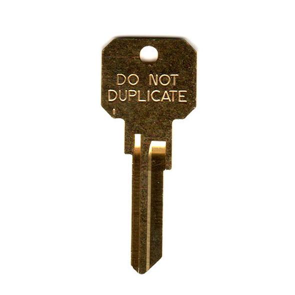 Ilco DND-KW1 Key Blank, NB KW1 DND