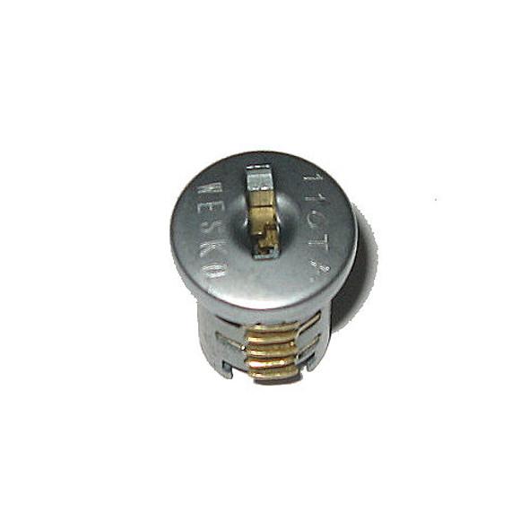 Wesko TA Satin Plug with 2 keys, KD