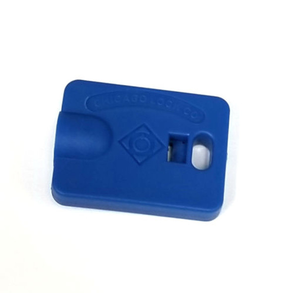 Compx Chicago D9645 Blue Ace Tubular Key Cover, Sold Each
