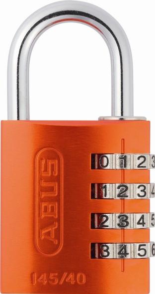 Abus 145/40 Orange Combination Padlock
