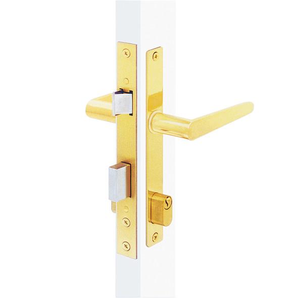 Papaiz MZ35 Mortise Lock Complete US3, Single Cylinder