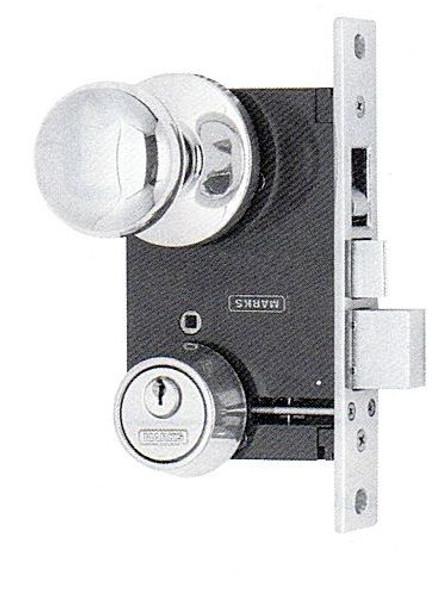 Marks Mortise Lock, 22AC/3-W RHR