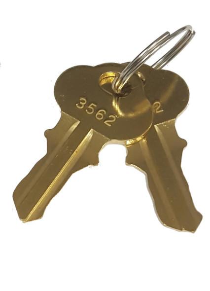 Cut Key, MEI 3302A - Code 3562, Sold Each