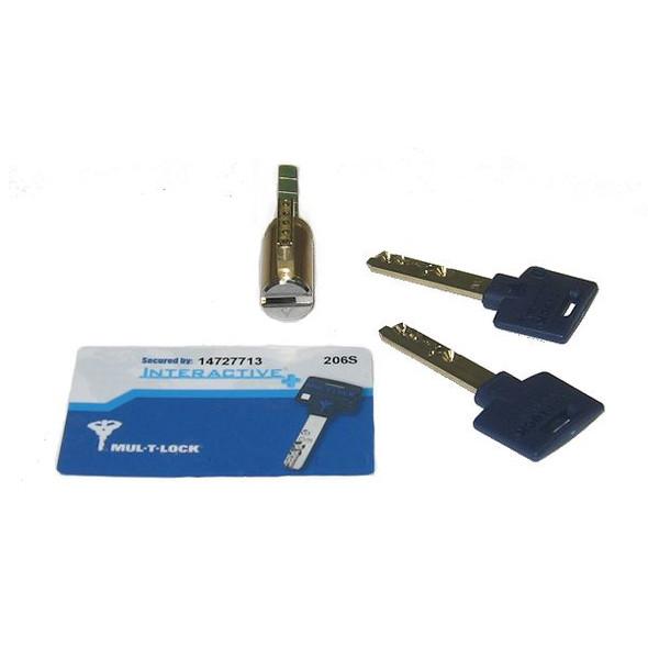 Mul-T-Lock 206SP-KIKSH-26 Lock Cylinder 26D/626
