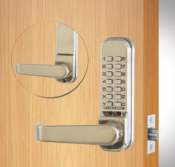Codelocks, CL410 SS Mechanical Pushbutton Lever Lock