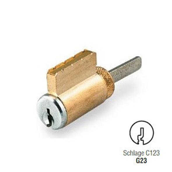 GMS K001-G23-26D Key-In-Knob Cylinder, SCH C123 Keyway, Sub-Assembled