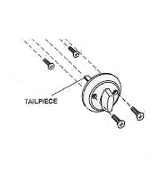 """Long thumbturn tailpiece 1-1/4"""" long, Ilco 4500-82-2008"""