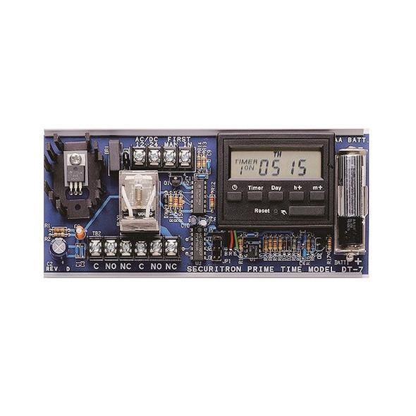Securitron DT-7 Timer, 24HR. 7 DAY