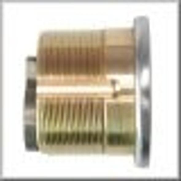 GMS M100-KW-03 Mortise Cylinder, Kwikset KW1 1in, Custom Keyed