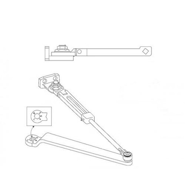 Hold Open Arm Only, Norton 7701-3 689, 7000 Series