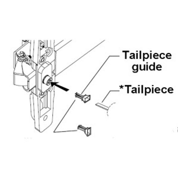 Von Duprin 050156 Tailpiece guide (10-Pack)