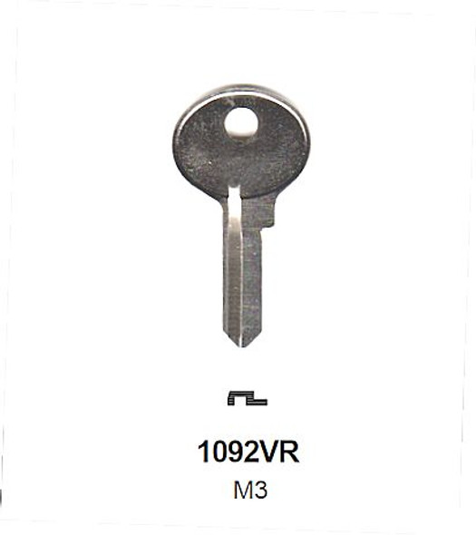 Ilco 1092VR Key Blank for Master Lock