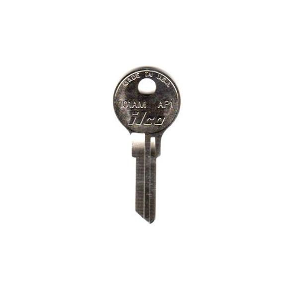 Key blank, Ilco 101AM, Chicago/Steelcase AP1