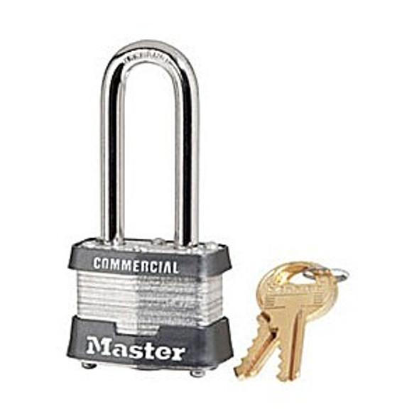 Master Lock 3LH Padlock,  Keyed Alike - Random Codes