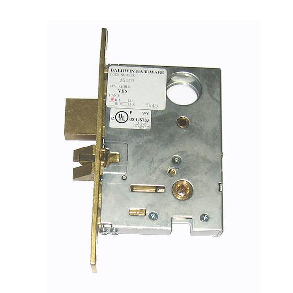 Mortise Lock Body, Baldwin 6001 003 RH Knob Trim