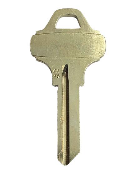Ilco C145 Key blank, SCH C145 6 Pin