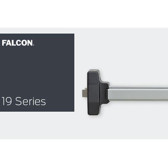 """Exit Device, Monarch/Falcon 19-R-EO-SP313 48"""" Door"""