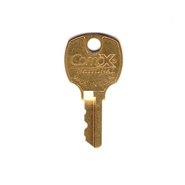 Compx National D8799 E41A Precut Master Key
