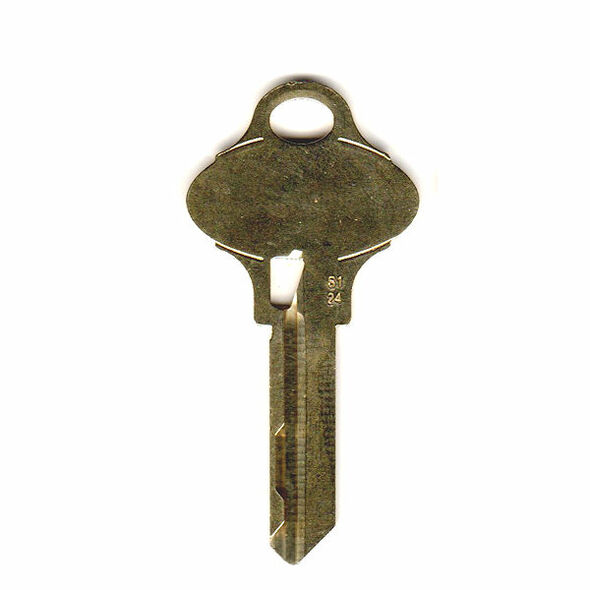 Key blank, Schlage Everest 35-270 S124
