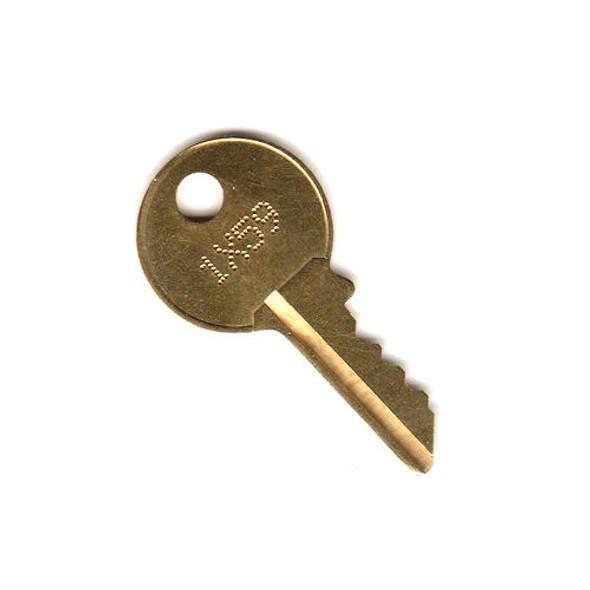 Code Cut Key, First Key Chicago 1X01 - 3X00 Series