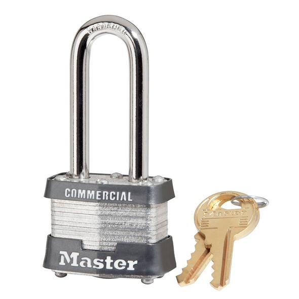 Master Lock 3LH Padlock, Factory Keyed