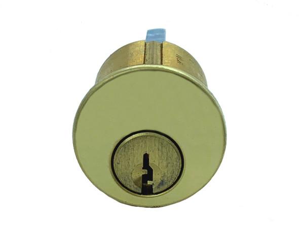 GMS R118-KW-03 Rim Cylinder, Kwikset KW1, Custom Keyed