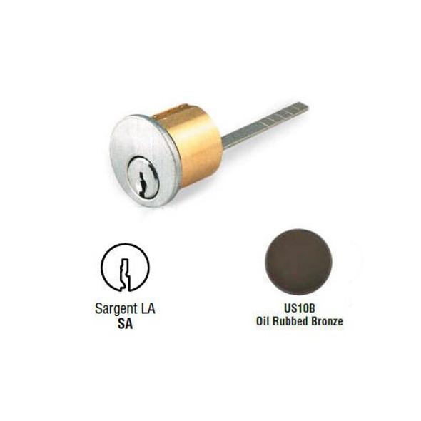 Rim Cylinder, GMS R118-SA-10B, Sargent LA, Keyed Different