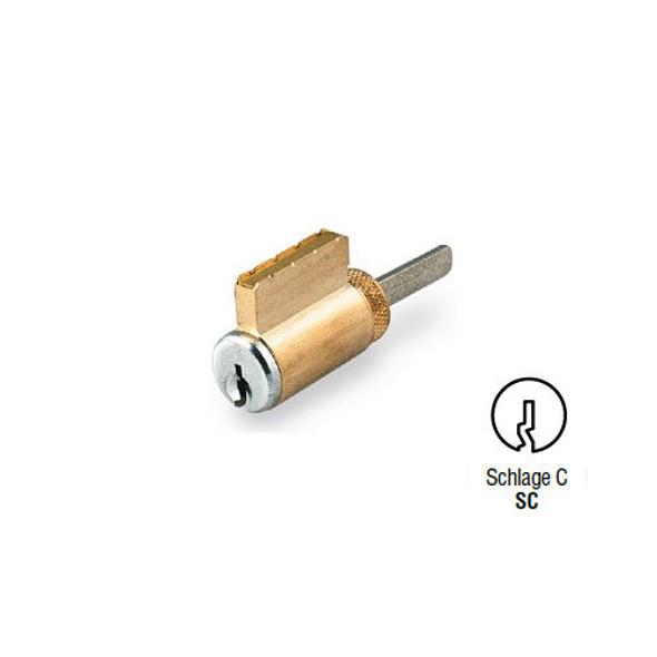 GMS K001-SC-26D Key-In-Knob Cylinder, Schlage C, Keyed Different