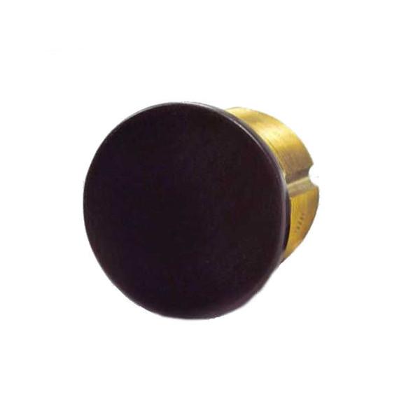 """GMS M118D 10B Dummy Mortise Cylinder,  1-1/8"""", Dark Bronze"""