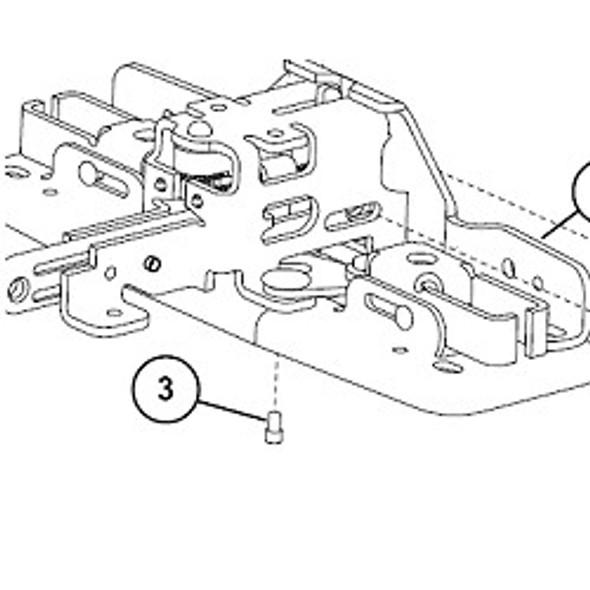 Von Duprin, 090074 NL Drive Screw (10-Pack)