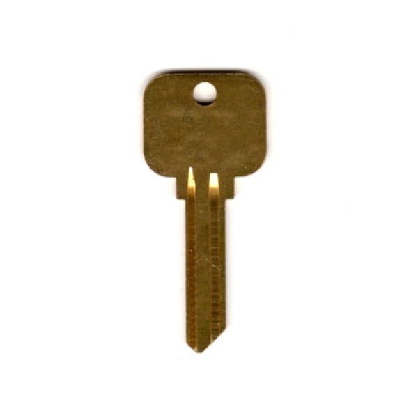 Key blank, Neuter Bow Y84 Plain/Plain 998GG