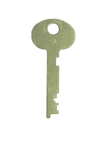 Extra Cut Guard Key #4 for Bullseye B440 Lock