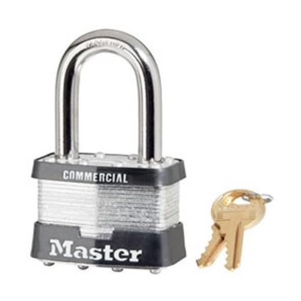 Master Lock 5KALF Laminated Steel Padlock, Keyed Alike 0464