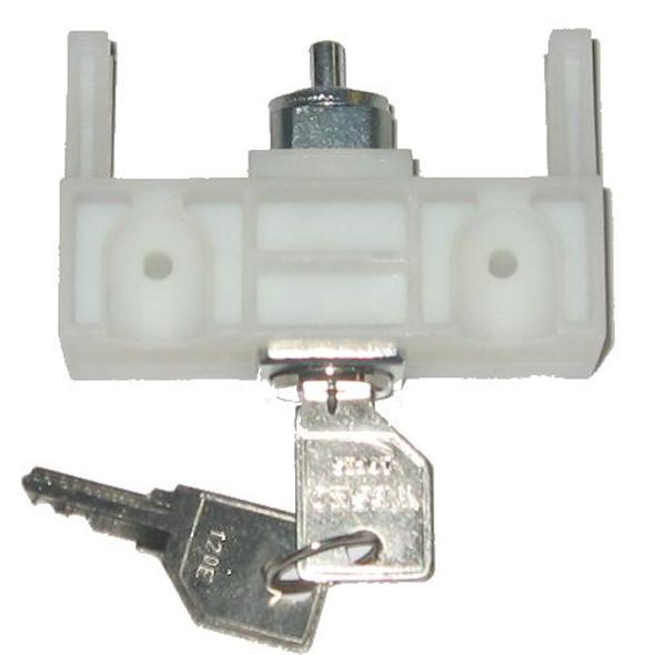 Lateral File Lock, HON E-Series, Key Code 104E