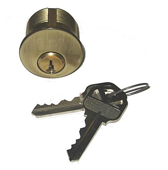 Ilco 7165KS2-05 1 inch Mortise Cylinder Kwikset US5 (Custom keyed)