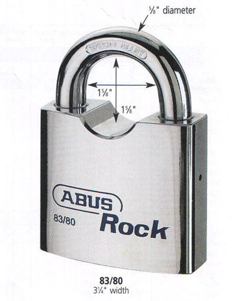 Padlock, Rock 83/80-300 Schlage C (Keyed Alike)