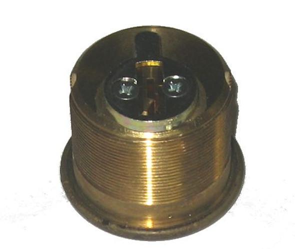 Ilco 7165KS2-05 1 inch Mortise Cylinder, Kwikset US5 (2 Pack Keyed Alike )