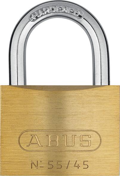 Abus 55/45KA 5453 Brass Body Padlock, Keyed Alike 5453