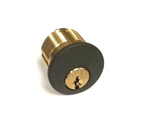 GMS M118-SCE 10B Mortise Cylinder 1-1/8, Schalge E, Custom Keyed