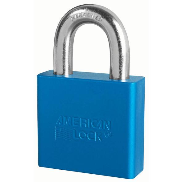 American Lock A1305 Blue Padlock, Keyed Alike 27644