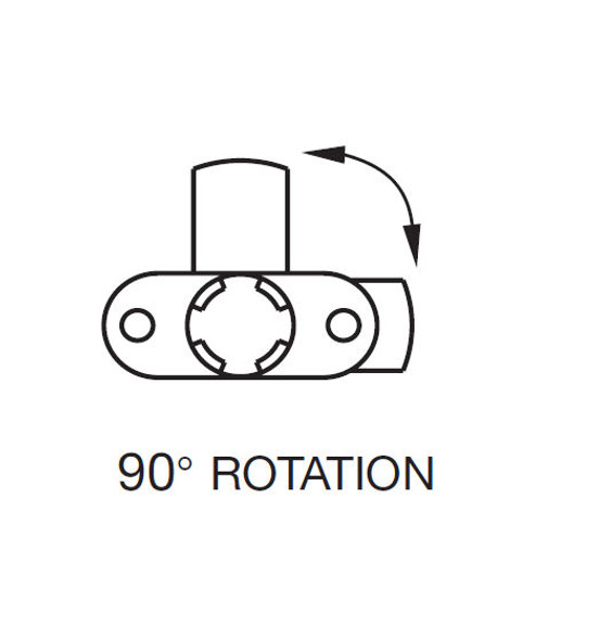 Cam Lock Cylinder Body, Timberline CB-083