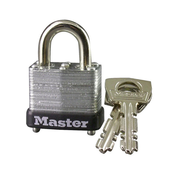 Master Lock 10D Padlock, Warded, Keyed Different