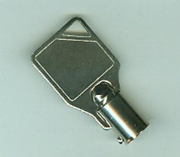 Cut Key, Tubular for Plunger Lock 51131